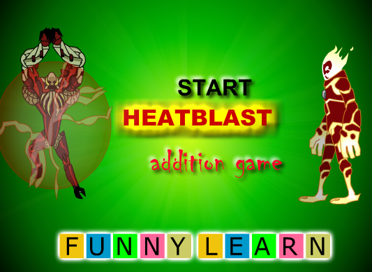 Heat Blast Math Addition