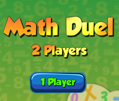 Math Duel 2 Players
